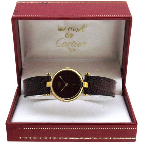 Cartier Le Must 925 Argent Watch with Box & Papers : Circa