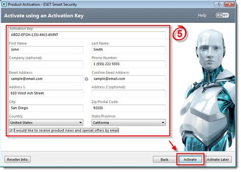 [KB2792] Activate my ESET Windows home product using my