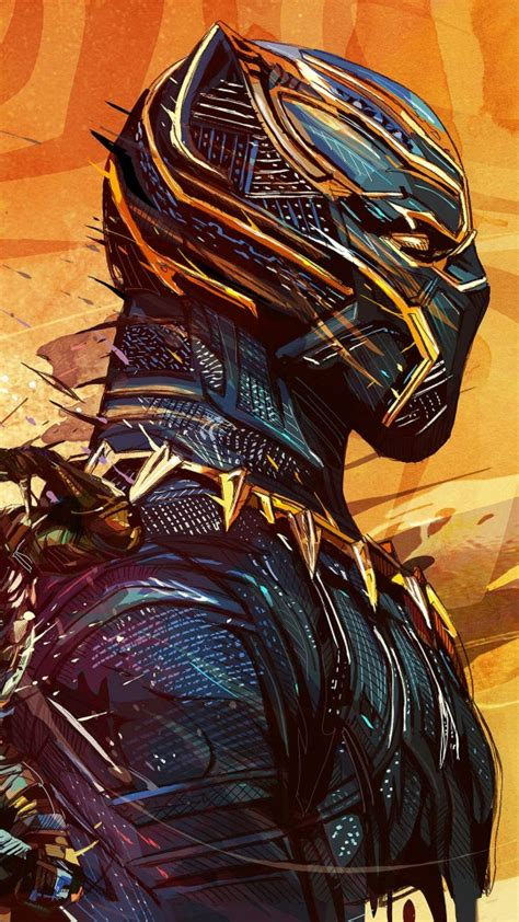 Black Panther Artwork Wallpapers   HD Wallpapers   ID #24590