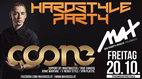 Hardstyle Party // MAX presents COONE live // - 20