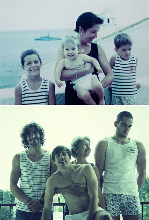20 Times Siblings Masterfully Recreated Their Childhood Photos