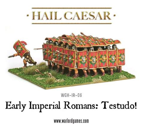 Early Imperial Romans: Testudo! - Warlord Games
