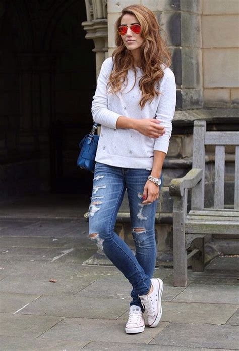Converse with Jeans – stylenister