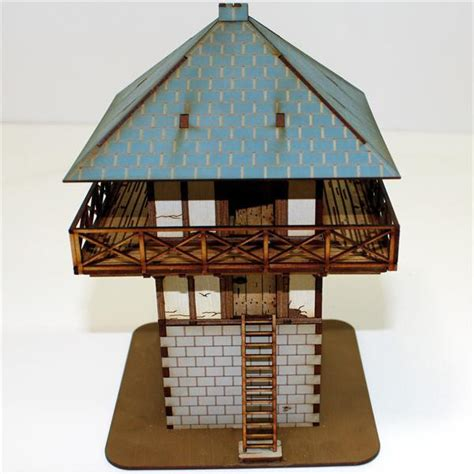 Pre-painted Roman Watchtower - Warlord Games