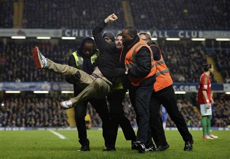 Pitch Invasions at Gillingham and Coventry Raise Security