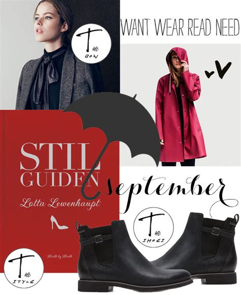 Want Wear Read Need September-15   Living by W