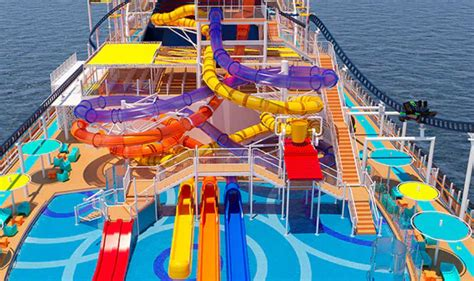 Ride the First ever Roller Coaster on a Cruise Ship coming
