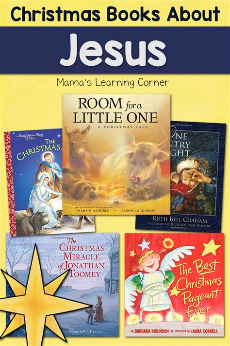Favorite Christmas Books About Jesus - Mamas Learning Corner