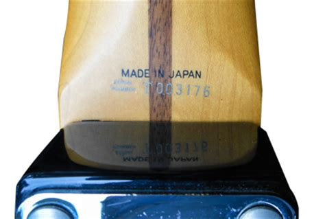 Japanese Fender Serial Numbers | Your Complete Guide