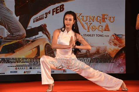 Jackie Chan at press conference for Kung Fu Yoga