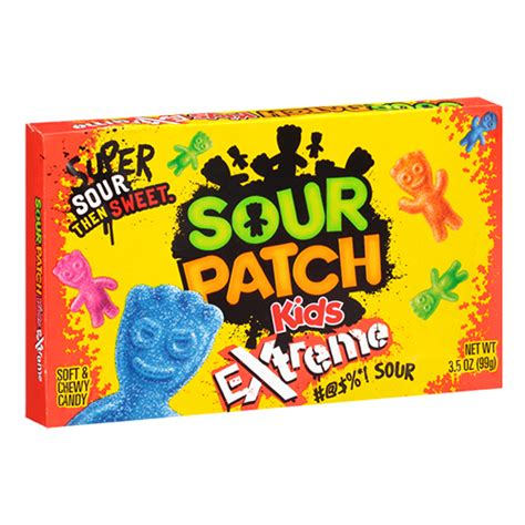 Sour Patch Kids Extreme Theatre Box (99 g) - Tasty America