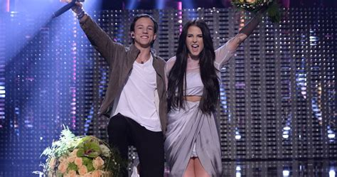 Sweden: Molly Sandén and Frans to the final - Eurovision