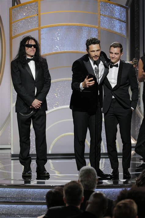James Franco wins 2018 Golden Globe for Best Actor in a Comedy