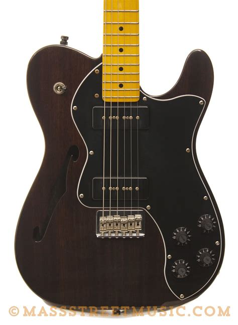Fender - Modern Player Thinline Telecaster with P90 style