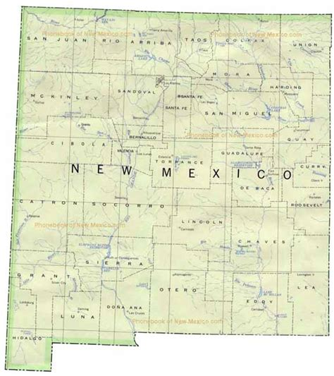 Phone Book of New Mexico