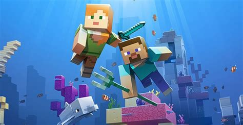 Minecraft's Aquatic Update Phase Two Gets Wet And Wild