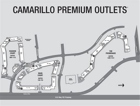 Camarillo Premium Outlets Shopping Mall - Maplets